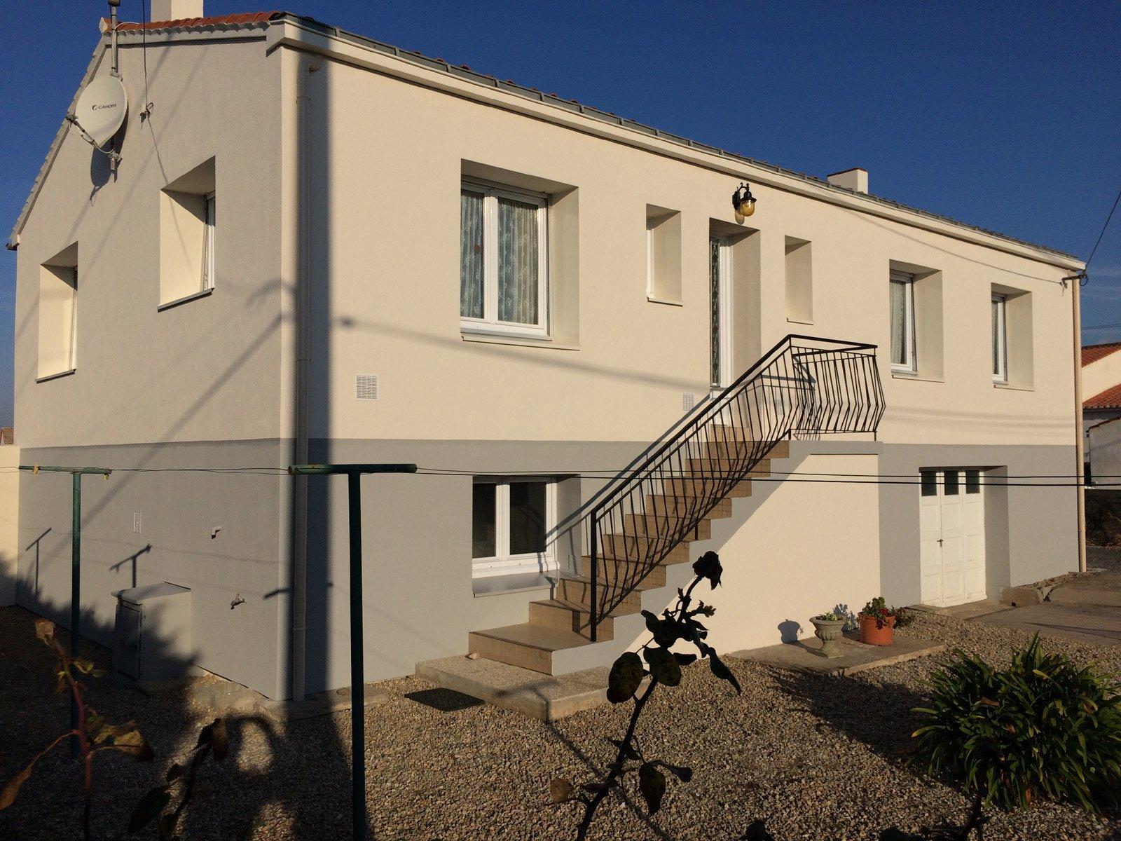 Isolation de l'extérieur d'une maison par ROGER SAS en Loire Atlantique